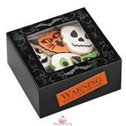 Scatole Porta Biscotti Halloween 3 pz Wilton