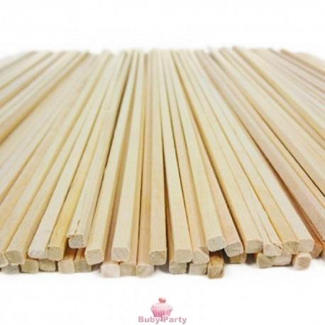 Bastoncini per zucchero filato in legno