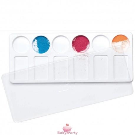Tavolozza per colori con coperchio Decora