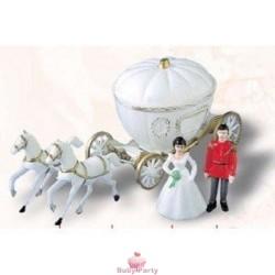Cake Topper Carrozza Principessa
