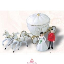 Carrozza principessa per torta topper cake