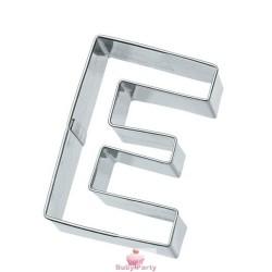 Tagliapasta Lettera E In Metallo 6 cm Birkmann