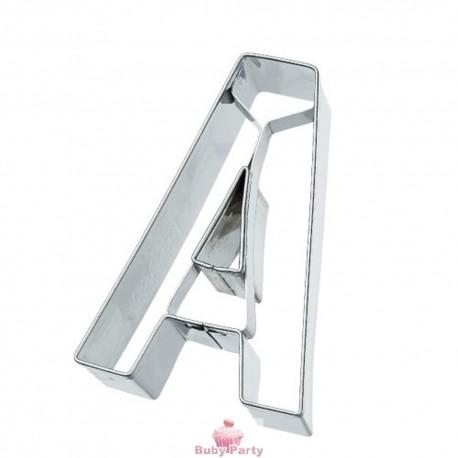 Tagliapasta lettera A in metallo 6 cm Birkmann