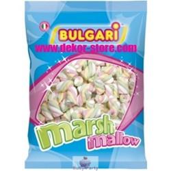 Marshmallow estruso treccia 4 colori 1 kg