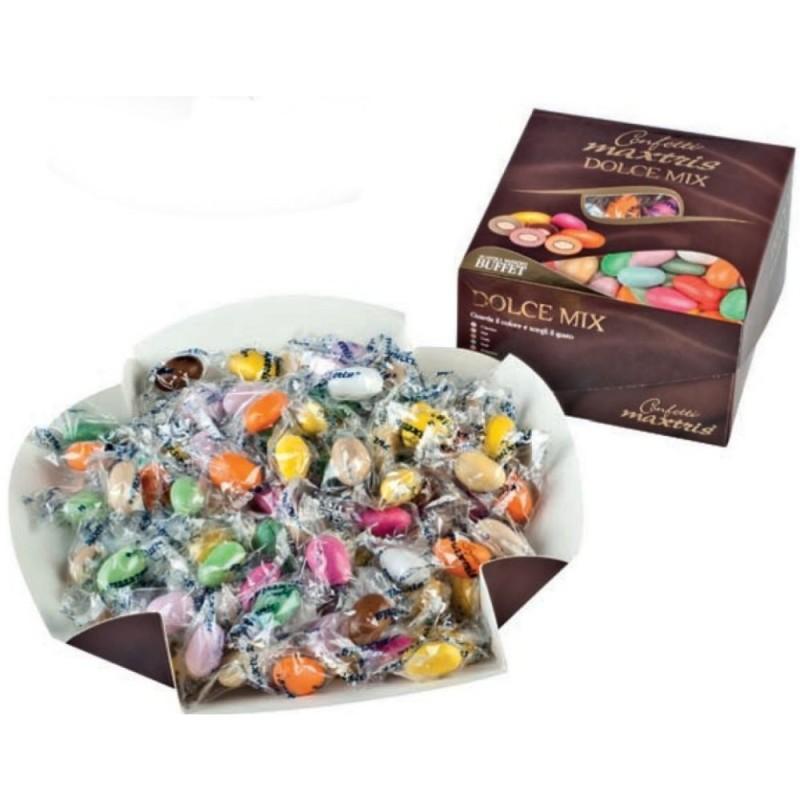 Confetti Maxtris Dolce Mix Colori Assortiti 500g
