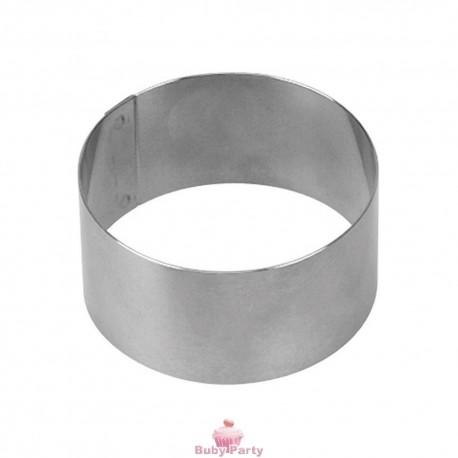 Coppapasta tondo in acciaio inox cm 4.5 h