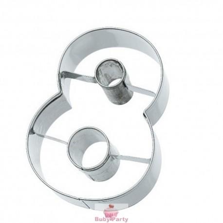 Tagliapasta numero 8 in metallo 6 cm Birkmann