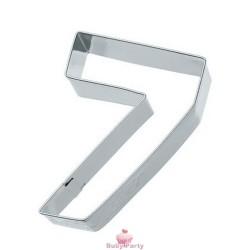 Tagliapasta Numero 7 In Metallo 6 cm Birkmann