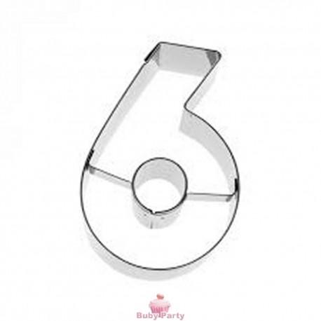 Tagliapasta numero 6 in metallo 6 cm Birkmann