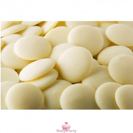 Cioccolato da copertura bianco 500 gr
