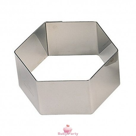 Tagliapasta in metallo mini esagono