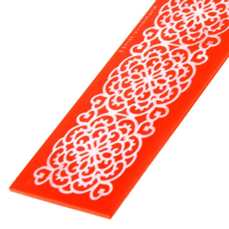 Stampo In Silicone Per Pizzi Sweet Lace Express Bali Modecor