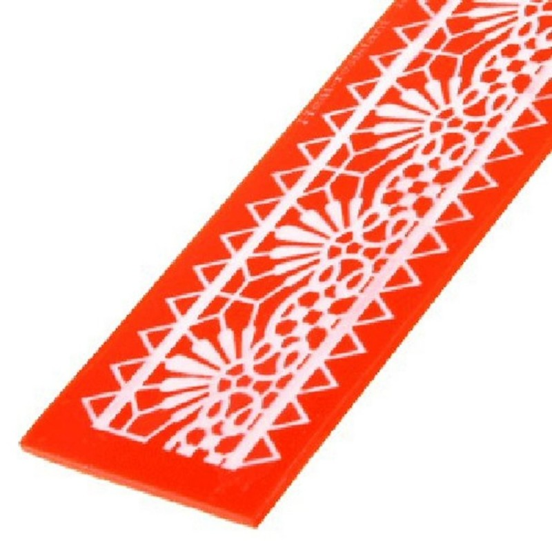 Stampo In Silicone Per Pizzi Sweet Lace Express Messico Modecor
