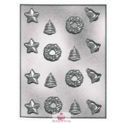 Stampo Per Cioccolatini Stella Campana Ghirlanda Natalizia Silikomart