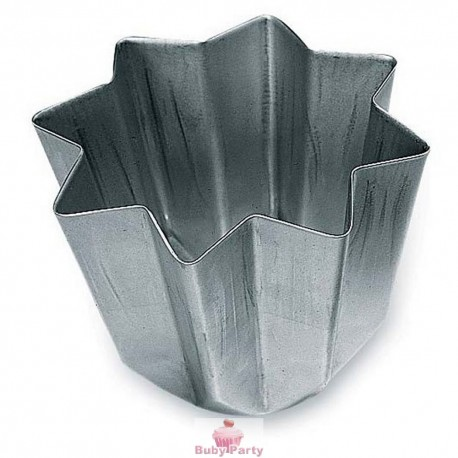 Stampo pandoro in alluminio anodizzato da 1 kg Decora