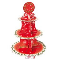 Alzatina Natalizia Porta Muffin E Cupcake 3 Piani GiVi