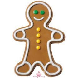 Stampo Gingerbread Gigante Per Cioccolato Wilton
