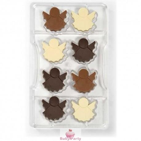 Stampo angeli per cioccolatini
