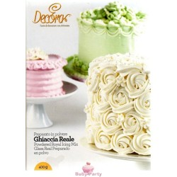 Ghiaccia Reale Royal Icing mix 400 gr Decora