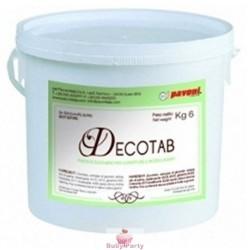 Pasta Di Zucchero Decotab Bianco 6 kg Pavoni