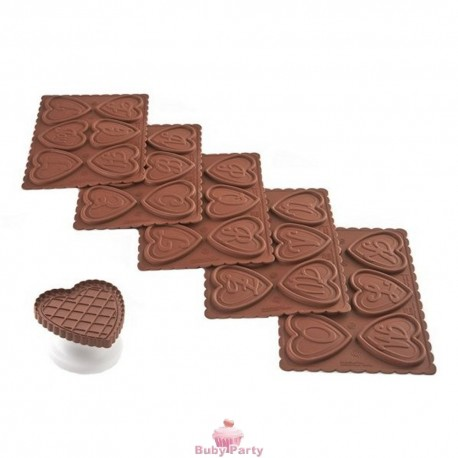 Stampo in silicone Cookie ABC Silikomart
