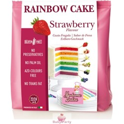 Preparato Rainbow Cake Fragola 100g Madame Loulou