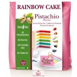 Preparato Rainbow Cake pistacchio 100 gr Madame Loulou