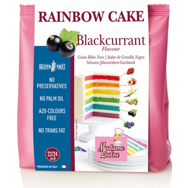 Preparato Rainbow Cake Ribes Nero 100g Madame Loulou