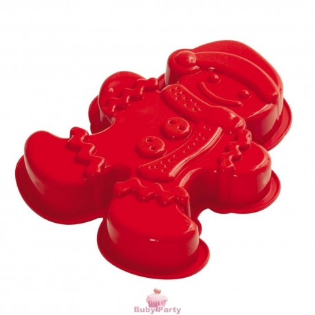 Stampo in silicone tortiera Gingerman