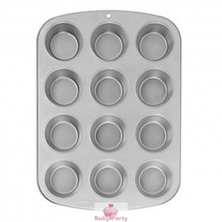 Stampo per muffin in alluminio 12 cavità Wilton