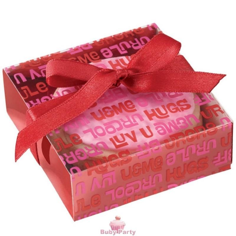 Scatole porta dolcetti san valentino 6 pz wilton buby - Scatole porta indumenti ...