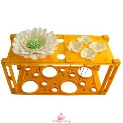 Supporto modella asciuga fiori in pasta di gomma