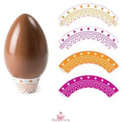 16 Basi Per Uova Di Cioccolato Da 350g A 500g Decora