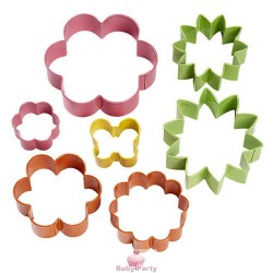 Set 7 Tagliapasta Mini Garden Wilton