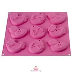 Stampo in silicone per biscotti multiforme pasquali Silikomart