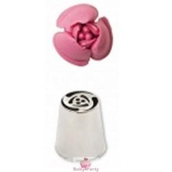Cornetto Speciale Rosa Per Sac A Poche Decora