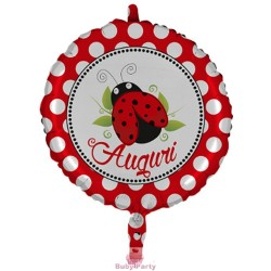 Palloncino mylar Auguri cm 45 Magic Party