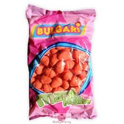 Marshmallow fragoline rosse 900 gr Bulgari