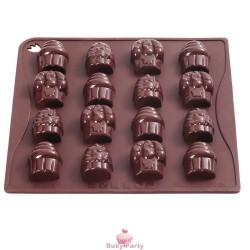 Stampo in silicone per cioccolatini forma Cup Cake Pavoni