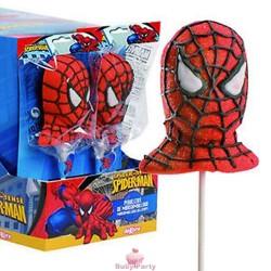 Lecca lecca Spiderman in marshmallow 12 pz