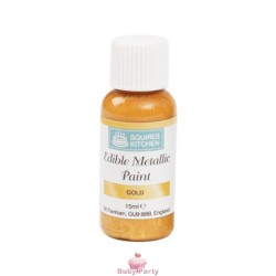Pittura Alimentare Liquida Oro 15 ml Squires Kitchen