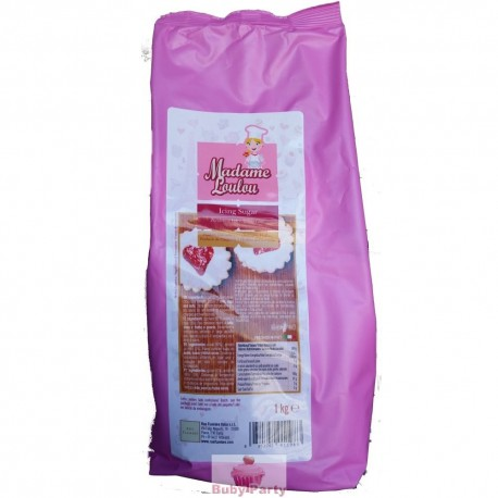Zucchero A Velo Professionale Icing Sugar 1 Kg Madame Loulou