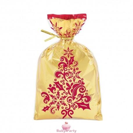 8 Sacchetti Damascati oro con laccetto Wilton