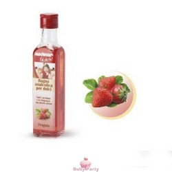 Bagna Analcolica Fragola Per Aromatizzare Creme Ed Impasti 250 Ml Modecor