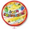 10 Piattini Buon Compleanno Murales Magic Party
