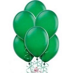 100 Palloncini In Lattice 9 Pollici Colore Verde