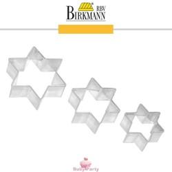 Set 3 Mini Tagliapasta Stella In Metallo Birkmann