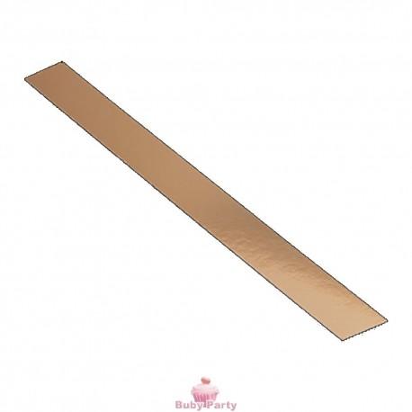 Striscia dorata da pasticceria in cartoncino 5 mt