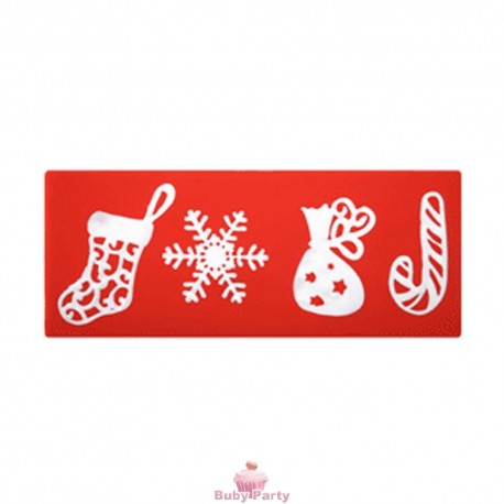 Stampo In Silicone Per Pizzi Sweet Lace Express Natale