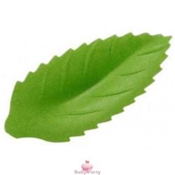 30 Foglie Verdi In Cialda Per Decorazioni Alimentari Ambra's